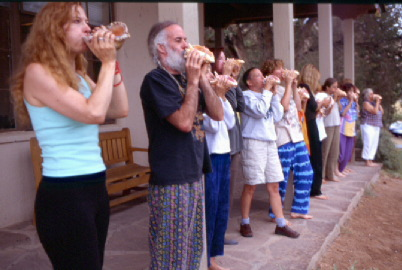 Conch Shell Class at the 2002 Retreat