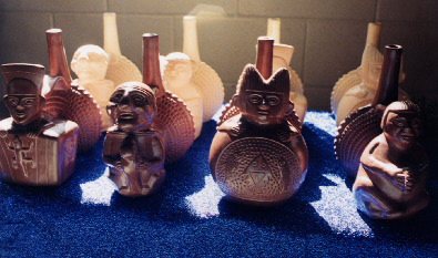 Peruvian Shamanic Whistling Vessels